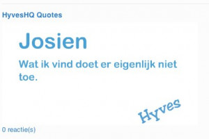 Hyves quotes gadget