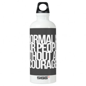 Inspirational and motivational quotes SIGG traveler 0.6L water bottle