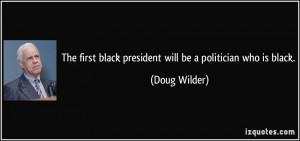 Doug Wilder Quote