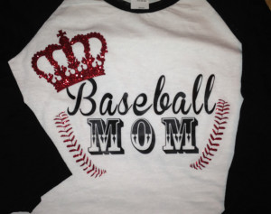 Softball Mom Quotes Baseball mom shirt