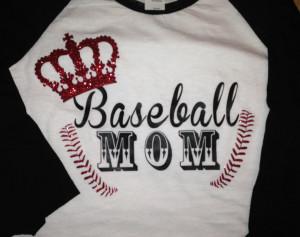 Softball Mom Quotes Baseball mom shirt