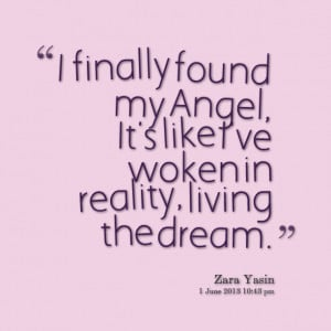 You Are My Angel Quote...