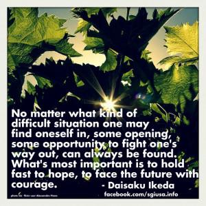 Quote from Daisaku Ikeda