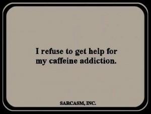 Coffee addict.