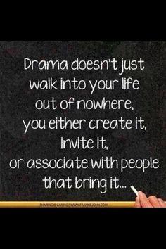 Drama Free Quotes