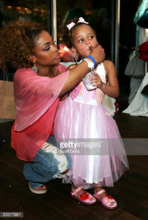 Tionne T Boz and Her Daughter