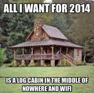 log cabin funny
