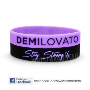 Demi Lovato Stay Strong Bracelet 2 stay strong demi lovato