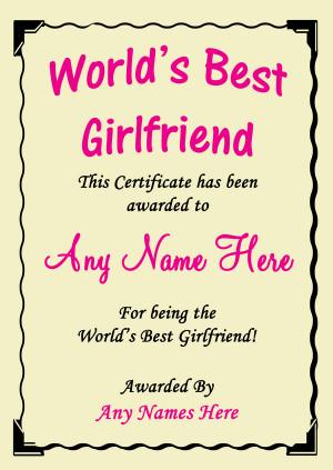 Girlfriend Best In The World