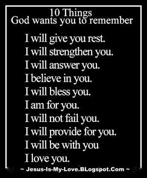 Bible Verses about God's Peace and Strength. 10 Things God wants you ...