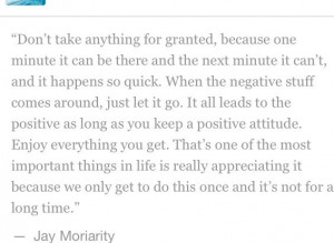 Jay moriarity quote