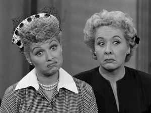 Lucy and her best friend Ethel (played by Vivian Vance). Photo Credit ...