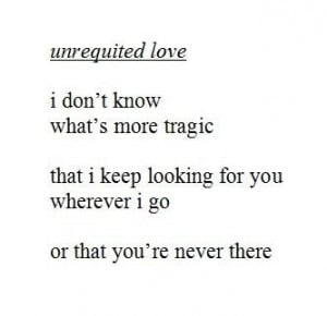 unrequited #love #quotes
