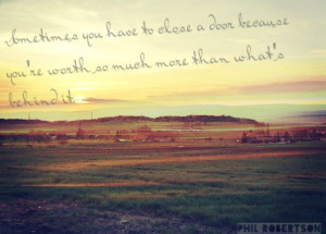 Robertson Duck dynasty quote Past, present, future, moving on, Hope ...