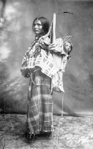 This is a photo of Sacagawea, a Shosone native who was hired as a ...