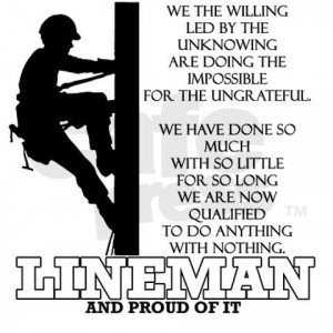 power lineman quotes