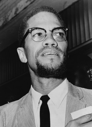 """the black freedom fighter malcolm x held the view that """"History is a ..."""