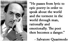 For more information about Salvatore Quasimodo: http://www ...