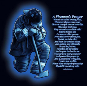 Printable Firefighters Prayer
