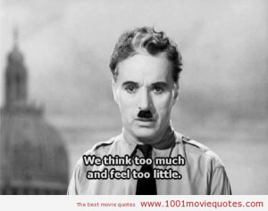 The Great Dictator (1940) quote