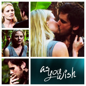 Emma and Hook kiss scene - THIS SHIP IS GOING TO SAIL, GODDAMN IT! # ...