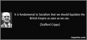 Stafford Cripps Quote