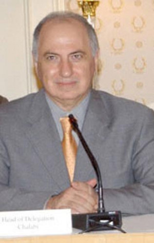 Ahmed Chalabi's Home Raided by U.S. Forces