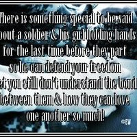 army girl quotes photo: Soldier and his Girl beforewepart.jpg