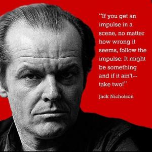 Movie Actor Quotes   Movie Actor Quote - Jack Nicholson Film Actor ...
