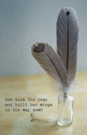 This quote with angel wings