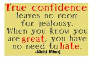 Nicki Minaj Jealousy Quote