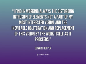 Edward Hopper Quotes