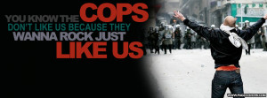 You Know The Cops Dont Like Us Cover