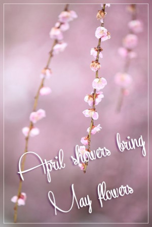 April showers quote