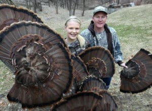 Elsa Anderson, 14, of Des Moines, started turkey hunting with her ...