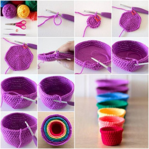 How To Make Beautiful Crochet Cups step by step DIY tutorial ...