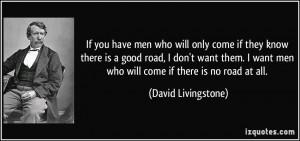 More David Livingstone Quotes