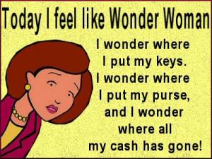 Today I feel like Wonder Woman!