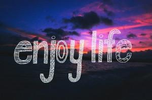 beach, enjoy, enjoy life, fashion, girl, life, love, pink, quote, sky ...