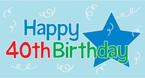happy birthday clip art happy 40th birthday clipart 40th birthday y ...
