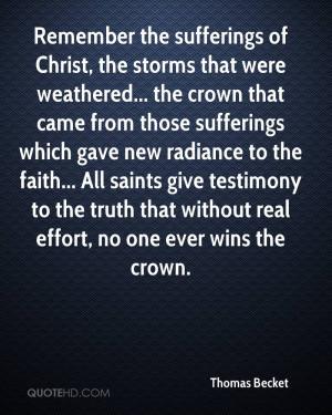 Thomas Becket Faith Quotes