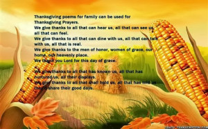 Meaning Thanksgiving Poems For