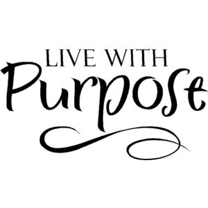 Wall Quotes Live With Purpose Vinyl Wall Quote