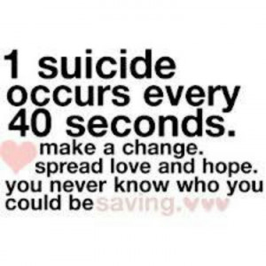 Suicide Awareness Sayings Be kind to yourself