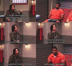 ... every now and then I watch Icarly because Spencer and Sam crack me up