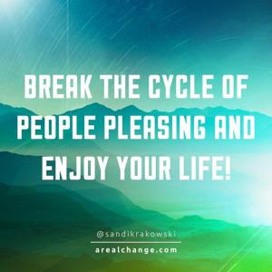 Break the cycle.