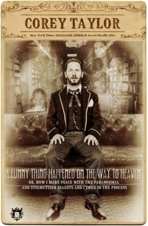 Corey Taylor of Slipknot and Stone Sour promotes his writing on ...
