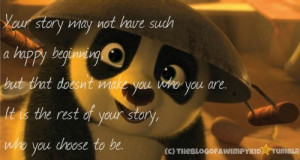 panda kung fu quote - Google-Suche | via Tumblr
