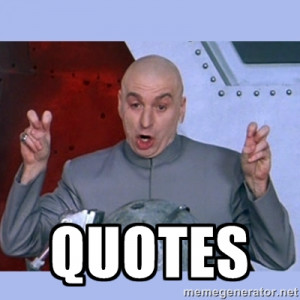 Dr Evil meme - QuotES