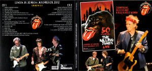 ... The Rolling Stones 2012-11-29 Champagne, Reefer And A Red Head Woman